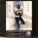 SIDNEY RICE - 2007 Donruss Elite Autograph RC - Vikings & South Carolina Gamecocks