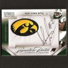 SHONN GREENE- 2009 National Treasures College Patch Autograph RC - Titans & Iowa Hawkeyes