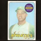 REGGIE JACKSON - 1969 Topps Rookie Card - EX-NM & Centered! - Athletics, Yankees, Angels