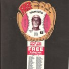 1977 CARLTON FISK Pepsi Glove Disc - COMPLETE DISC - Boston Red Sox