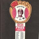 1977 CARLTON FISK Pepsi Glove Disc - COMPLETE DISC - Boston Red Sox