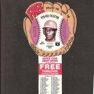 1977 KEN GRIFFEY Pepsi Glove Disc - COMPLETE DISC - Cincinnati Reds
