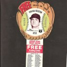 1977 CARL YASTRZEMSKI Pepsi Glove Disc - COMPLETE DISC - Boston Red Sox