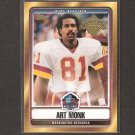 ART MONK - 2008 Topps Hall of Fame - Washington Redskins & Syracuse Orangemen
