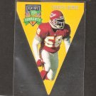 Derrick Thomas - 1996 Playoff Contenders PENNANT - Chiefs & Alabama Crimson Tide