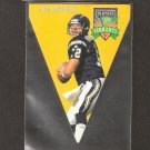 Stan Humphries - 1996 Playoff Contenders PENNANT - Chargers & Redskins