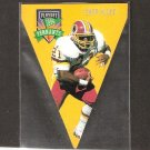 Terry Allen - 1996 Playoff Contenders PENNANT - Vikings, Redskins & Clemson Tigers