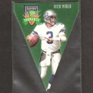 Rick Mirer - 1996 Playoff Contenders PENNANT - Seahawks, Bears & Notre Dame