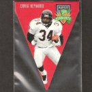 Craig Heyward - 1996 Playoff Contenders PENNANT - Saints, Falcons & Pittsburgh Panthers