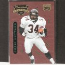Craig Heyward - 1996 Playoff Contenders LEATHER - Saints, Falcons & Pittsburgh Panthers