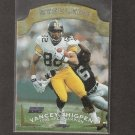 YANCEY THIGPEN - 1996 Pro Line DCIII AFC Champion - Steelers, Titans & Chargers