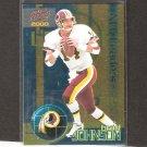 BRAD JOHNSON - 2000 Pacific Invincible NFC Leaders - Redskins, Vikings, Buccaneers & Florida State