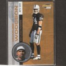 CHARLES WOODSON - 2001 Pacific Invicible Serial Number - Raiders, Michigan Wolverines