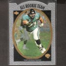 TONY BOSELLI - 1996 Upper Deck Silver All Rookie Team - Jaguars, Texans & USC Trojans