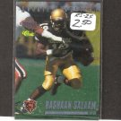 RASHAAN SALAAM- 1995 Classic Rookie Spotlight - Chicago Bears & Colorado Buffaloes