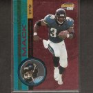 STACEY MACK - 2001 Invincible Red Parallel - Jaguars & Temple Owls
