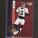 GUS FREROTTE - 2001 Invincible Red Parallel - Redskins, Broncos & Tulsa