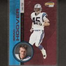 BRAD HOOVER - 2001 Invincible Red Parallel - Panthers & Western Carolina