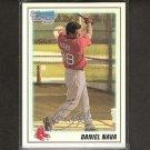 DANIEL NAVA 2010 Bowman Chrome Rookie REFRACTOR - Red Sox