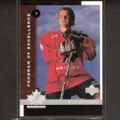 BRAD RICHARDS 1997-98 Upper Deck ROOKIE - Dallas Stars & Tampa Bay Lightning