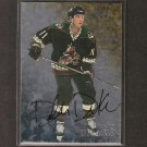 DALLAS DRAKE - 1998-99 Be A Player AUTOGRAPH - Coyotes, Red Wings, Blues & Northern Michigan