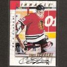 CHRIS TERRERI - 1997-98 Be A Player AUTOGRAPH - Devils, Sharks, Blackhawks & Providence Friars