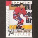 DARCY TUCKER - 1997-98 Be A Player AUTOGRAPH - Canadiens, Maple Leafs, Lightning & Avalanche
