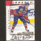 SCOTT PELLERIN - 1997-98 Be A Player AUTOGRAPH - Blues, Devils, Stars & Maine Blackbears