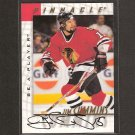 JIM CUMMINS - 1997-98 Be A Player AUTOGRAPH - Blackhawks, Red Wings & Michigan State Spartans
