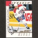 CRAIG RIVET - 1997-98 Be A Player AUTOGRAPH - Canadiens, Sharks & Sabres