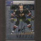 JEFF SHANTZ - 1997-98 Be A Player Die Cut AUTOGRAPH - Blackhawks, Flames & Avalanche