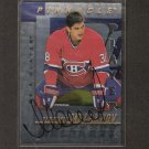 VLADIMIR MALAKHOV - 1997-98 Be A Player Die Cut AUTOGRAPH - Canadiens, Islanders, Devils & Rangers