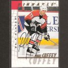 PAUL COFFEY - 1997-98 Be A Player AUTOGRAPH - Flyers, Penguins, Oilers & Red Wings
