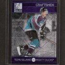 TEEMU SELANNE - 1997-98 Donruss Elite Craftsmen - Anaheim Ducks & San Jose Sharks