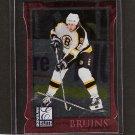 JOE THORNTON - 1997-98 Donruss Elite Aspirations - Boston Bruins & San Jose Sharks