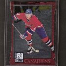 SAKU KOIVU - 1997-98 Donruss Elite Aspirations - Montreal Canadiens & Anaheim Ducks