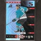 MARCO STURM 1997-98 Zenith Rookie Reign - Sharks & Bruins
