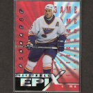BRETT HULL 1997-98 Pinnacle Epix Orange - Blues, Stars & Red Wings