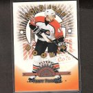 VINNIE PROSPAL 1997-98 Gold Leaf Rookie - Flyers, Senators, Lightning & Rangers