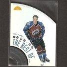 PETER FORSBERG 1996-97 Leaf The Best of... - Avalanche, Flyers, Predators