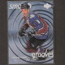 JOE SAKIC 1997-98 Upper Deck Smooth Grooves - Colorado Avalanche