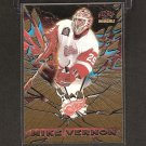MIKE VERNON 1997-98 Pacific Invincible Feature Performers - Red Wings, Flames, & Sharks