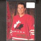 CHRISTIAN DUBE 1994-95 SP ROOKIE - NY Rangers & Switzerland