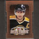 RAY BOURQUE 1997-98 Donruss Preferred National Treasures - Bruins & Avalanche