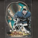 MIKE VERNON 1997-98 Pacific Paramount Glove Side Laser Cuts - Red Wings, Flames, & Sharks