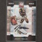 JEREMY MACLIN - 2009 Donruss Elite Autograph RC - Missouri Tigers & Philadelphia Eagles