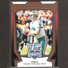 DAN MARINO 2010 Topps 75th Draft - Miami Dolphins & Pittsburgh Panthers