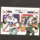 EMMITT SMITH & LaDANIAN TOMLINSON 2010 Topps Gridiron Lineage Rookie - Dallas Cowboys & NY Jets