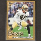 DARREN SHARPER 2010 Topps GOLD Parallel - Saints, Packers & William & Mary