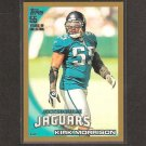 KIRK MORRISON 2010 Topps GOLD Parallel - Jaguars, Raiders & San Diego State